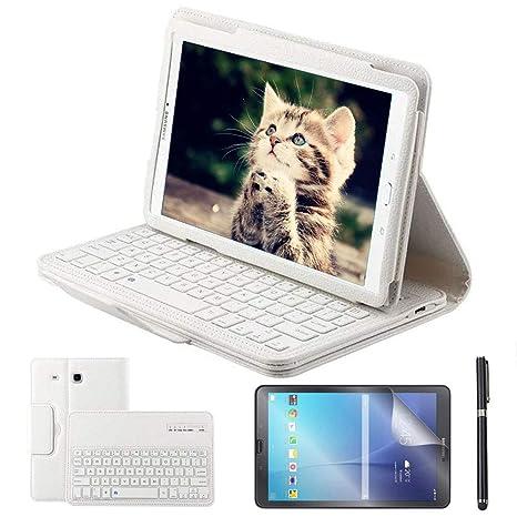 cover samsung galaxy tab e con tastiera