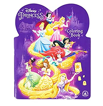 Disney Princess Coloring Book Parks Authentic