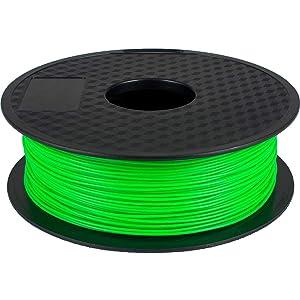 GEEETECH PLA Filamento 1.75mm 1kg Spool per Stampante 3D, Verde Chiaro