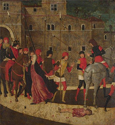 Oil painting ` Italian Veronese The Widow `s Petition `で印刷ポリエステルキャンバス、12x 13インチ/ 30x 33cm、最高のギフト、ホーム装飾、リビングルーム装飾はキャンバスにこのレプリカアートDecorativePrintsの商品画像