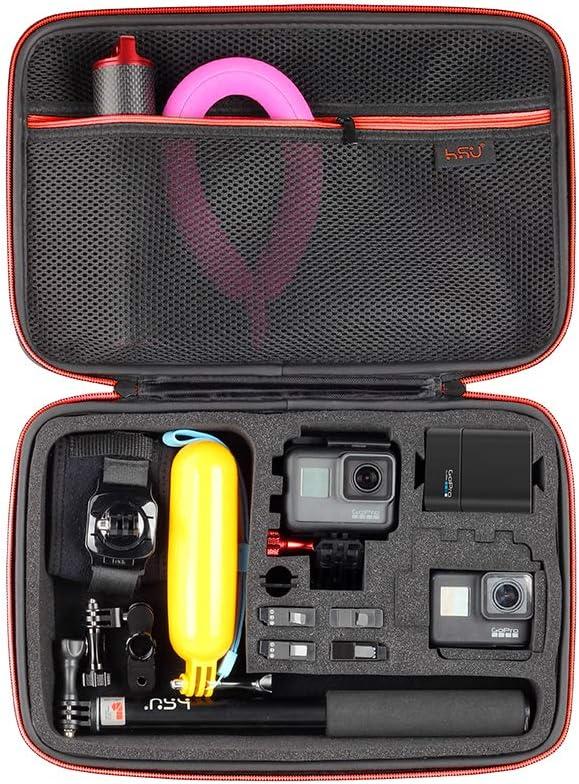 HSU Funda protectora para GoPro Hero 9//8//7//6//5//4//3 y accesorios