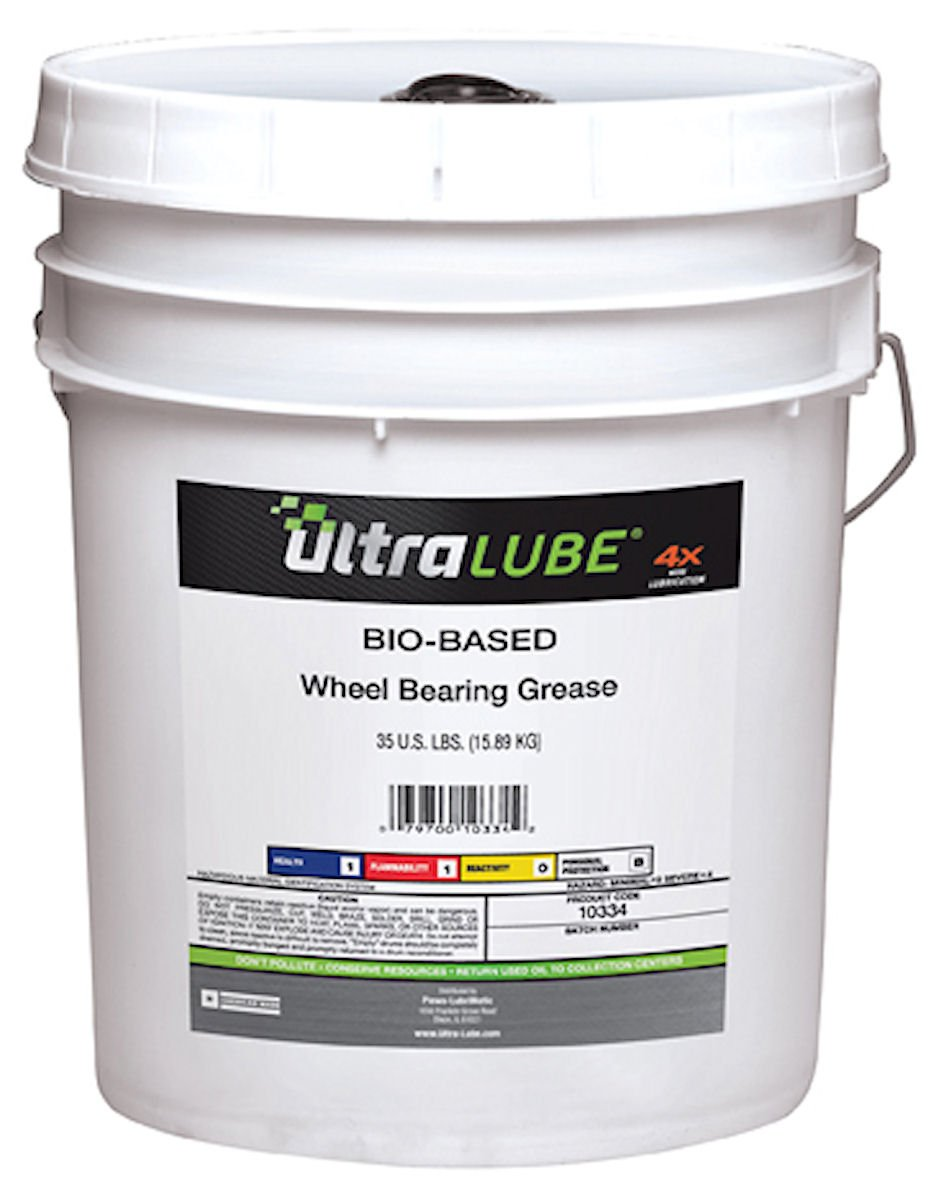 Ultra Lube 10334 Disc/Drum Wheel Bearing Biobased Grease- 35 Lbs Plastic Pail by LubriMatic