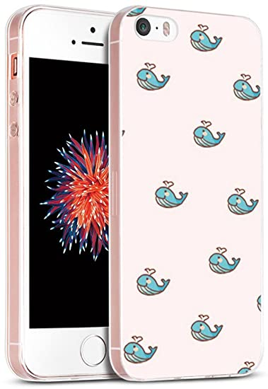 amazon com case for iphone se kawaii iwone designer non slip rubbercase for iphone se kawaii iwone designer non slip rubber durable protective replacement skin transparent