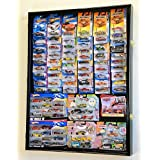 Hot Wheels / Matchbox for cars in retail boxes Display Case Cabinet w/ UV Door, Black by Unknown
