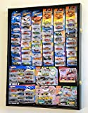 Hot Wheels / Matchbox for cars in retail boxes Display Case Cabinet w/ UV Door, Black