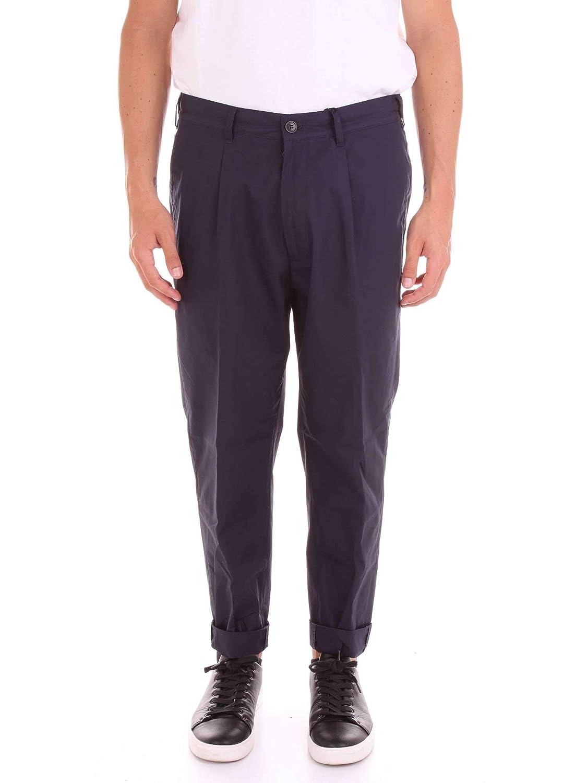Brand Size 50 COgreen Men's IM6017IC253bluee blueee Cotton Pants