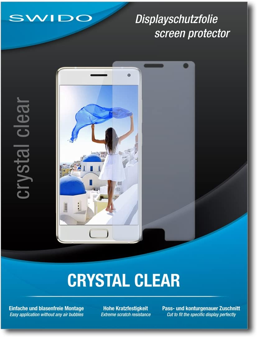 4 x SWIDO® Protector de pantalla Lenovo ZUK Z2 Pro Protectores de pantalla de película