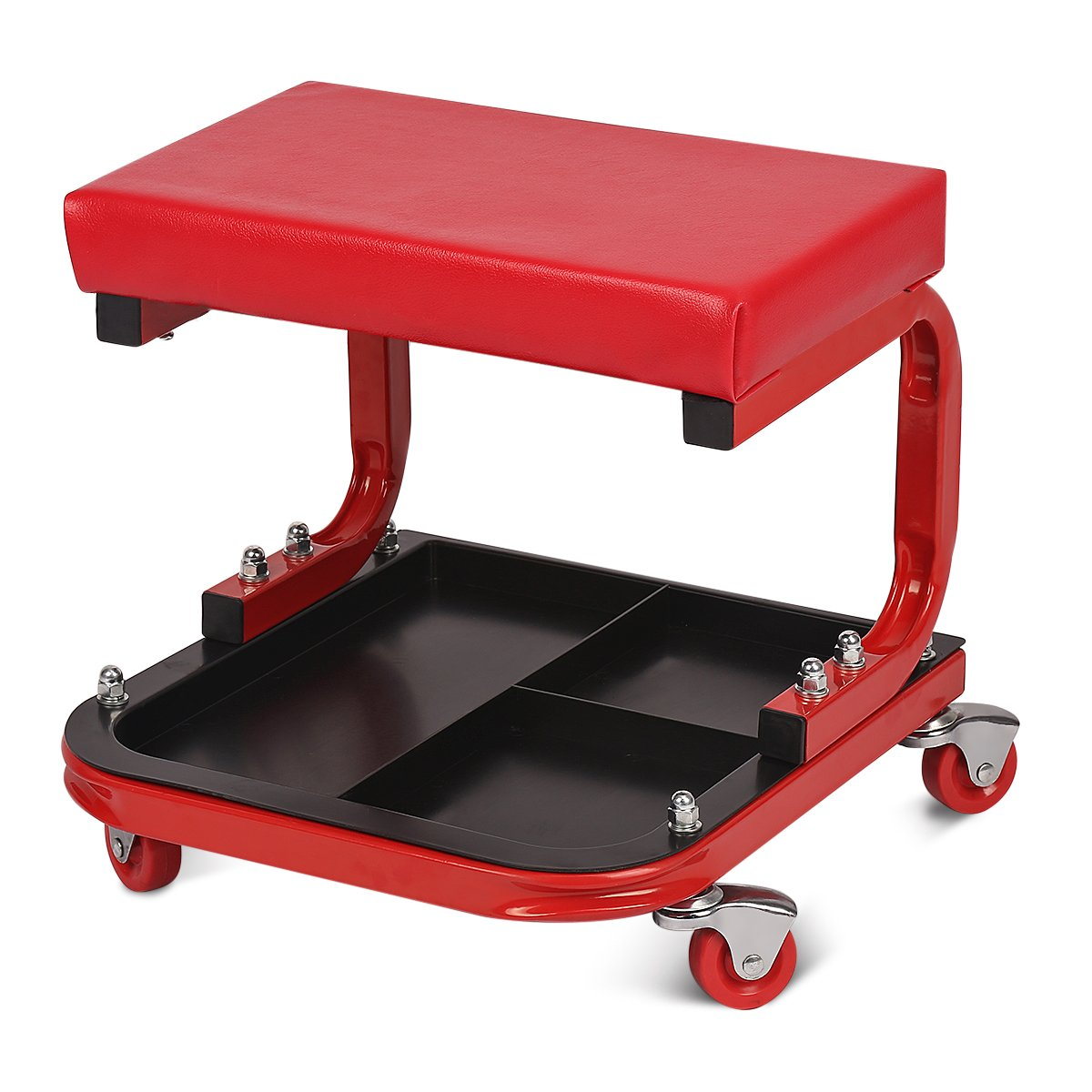 Excelvan TAS1403 Mechanics Creeper Seat Auto U Rolling Seat Stool Chair Garage Repair Stool (Capacity  sc 1 st  Amazon.com & Amazon.com: Roller Seats - Roller Seats u0026 Creepers: Automotive islam-shia.org