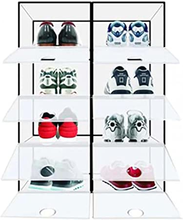 ShowOffAU Drop Front Shoe Box Storage in 2 pieces