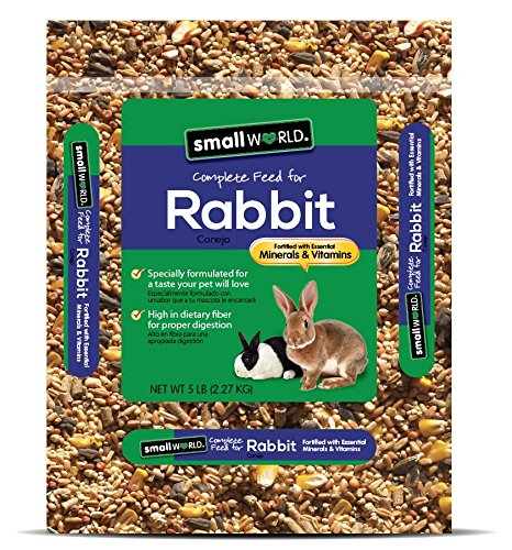 (Manna Pro Small World Complete Feed For Rabbit, 5 Lb)