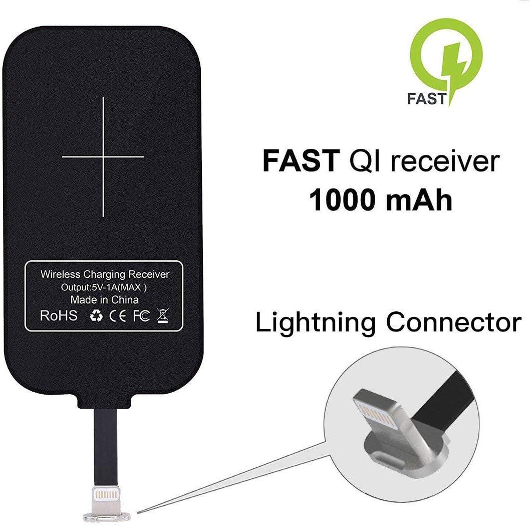 Amazon Com Nillkin Iphone Wireless Charging Receiver Magic Tag Qi Wireless Charger Receiver 1000mah For Iphone 7 6 6s Plus
