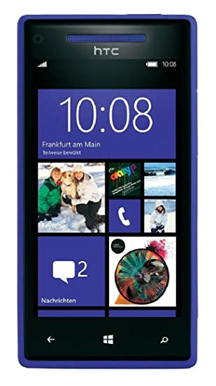 90b02a71032 Amazon.com: HTC 8X, Blue 8GB (AT&T): Cell Phones & Accessories