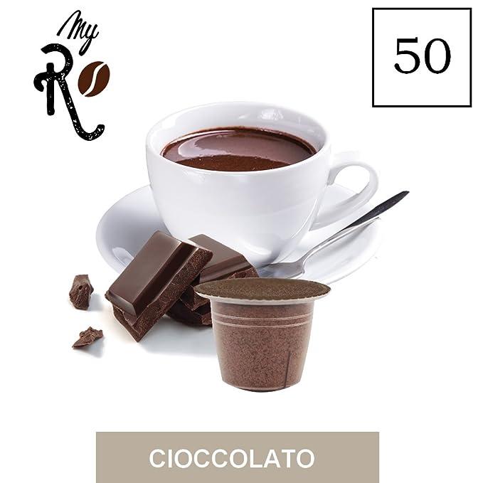 FRHOME - 50 Cápsulas compatibles Nespresso - Chocolate ...