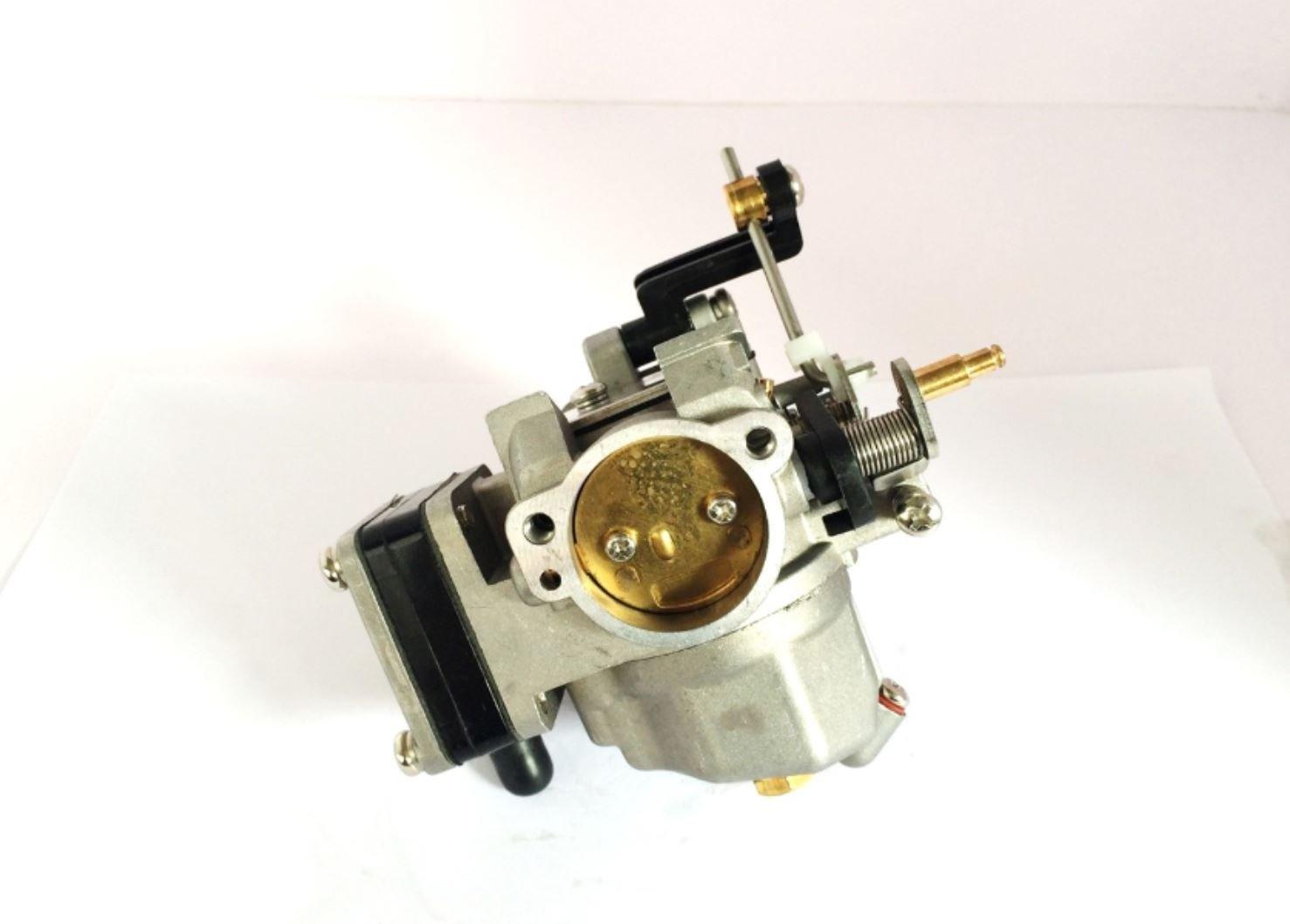 YAMASCO 684– 14301– 01 684– 14301– 04 684– 14301– 05 06 07 08 Vergaser Carb ASSY fü r Yamaha Auß enborder 9,9, 13,5, 15HP 2 Takt Motor