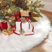 Sopito Faldas arbol Navidad, 36 Pulgadas de Piel