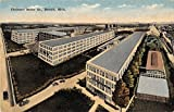 Detroit Michigan Chalmers Motor Co. General View Antique Postcard V21325