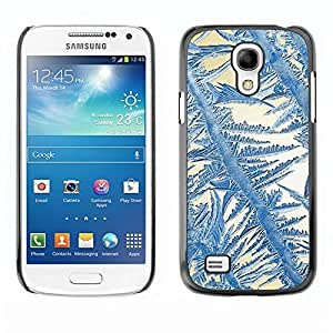 Be Good Phone Accessory // Dura Cáscara cubierta Protectora Caso Carcasa Funda de Protección para Samsung Galaxy S4 Mini i9190 MINI VERSION! // Crystal Sun Blue White Winter