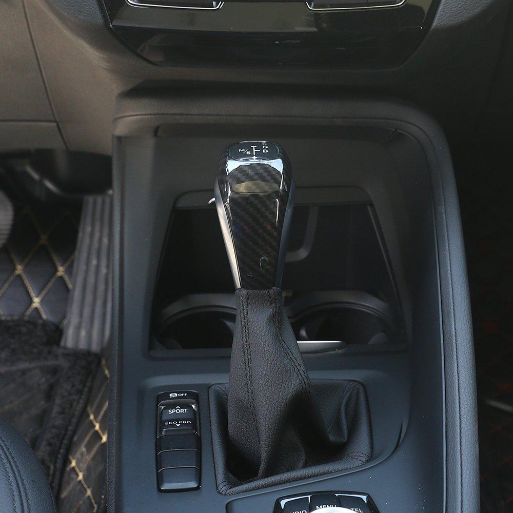 2017 Fibre de carbone Coque en plastique ABS T/ête de d/érailleur Style Trim pour X1/F48/2016//17/2/S/érie 218i Gran Tourer F46/2015