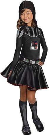Rubies Disfraz de Darth Vader para niñas de Star Wars, Libro de ...