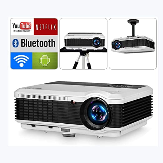 Ai LIFE Proyectores Proyectores de Video HD con Bluetooth WiFi ...