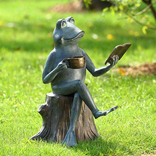 SPI Home 34256 Joy of Reading Garden Sculpture