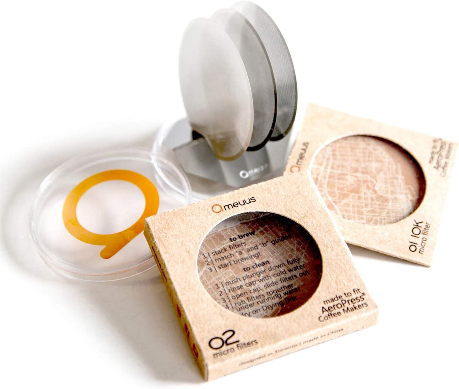 Ameuus - Microfiltros de filtración ultra alta para cafetera ...