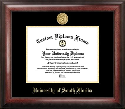 Amazon.com : South Florida USF Bulls Home Office Diploma Picture ...