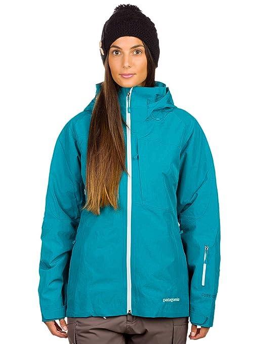 huge discount 92523 5397a Patagonia - Giacca da Sci da Donna, Turchese, M: Amazon.it ...