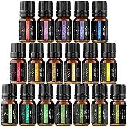 Essential Oils - Anjou Top 18 Aromatherapy Oils Premium Fragrance Oil Organic Pure for Diffuser Yoga Massage &