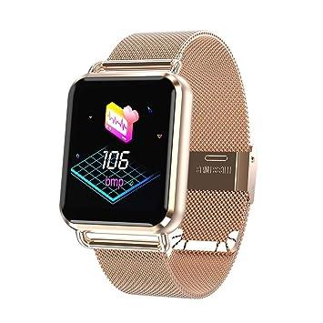 332PageAnn Bracelet Intelligent Tracker Montre Connectée Fitness avec Couleur Ecran pour Etape Comptage du Rythme Cardiaque