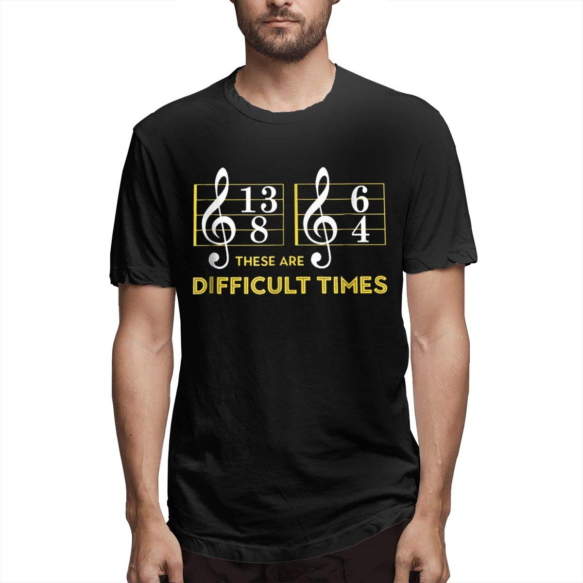2019 These Are Difficult Times Music Lover For Black Shirts
