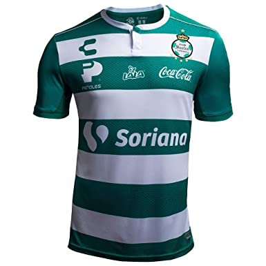 904735373 Amazon.com  charly Men s Santos Laguna Home Jersey 18-19  Clothing