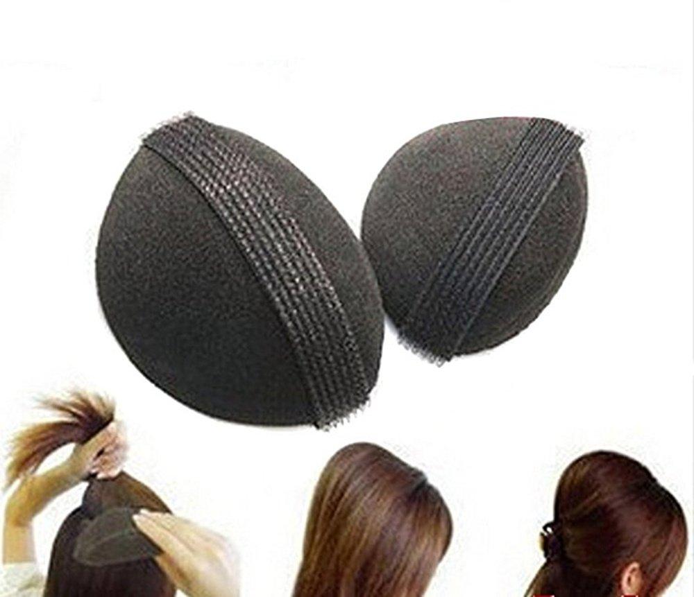 Bump It Up Volume Hair Base Styling Insert Tool Do Beehive Hair Styler Women Hair Styling Clip Stick Bun Maker Braid Tool Hair Accessories, Black 723120629318