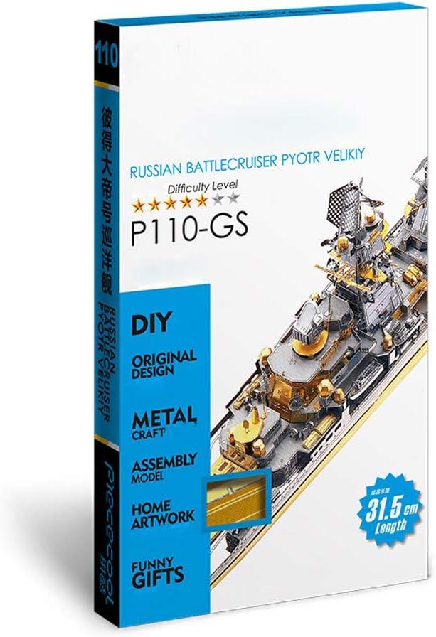 Model Battleship 3D Metal Jigsaw Puzzle Assembly Toys,A
