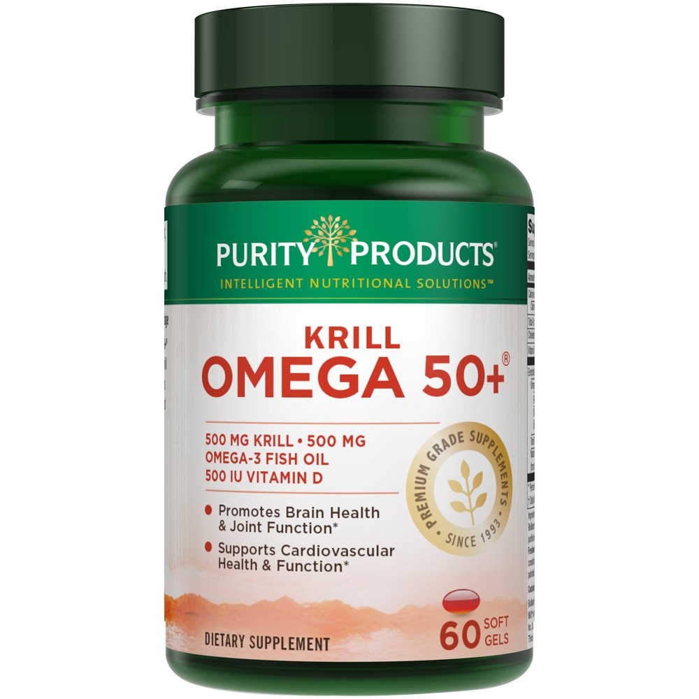 Krill Omega 50+ - 60 Softgels from Purity Products by Purity Products