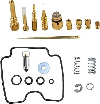 Carb Rebuild Kit For Repair Yamaha Rhino 660 4x4 2004 2005 2006 2007 YXR660F