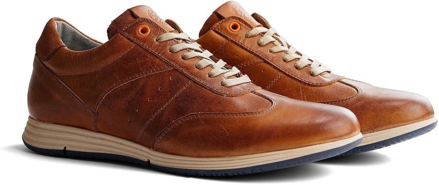 7e515477246163 Travelin  Harwich Leather Sneaker Men