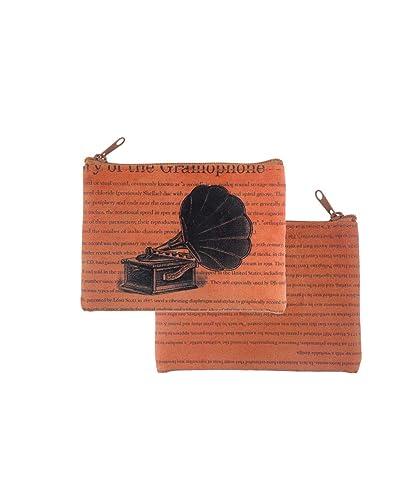Amazon.com: LAVISHY - Monedero de piel sintética, diseño ...