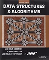 Data Structures and Algorithms in Java, 6th Edition Front Cover