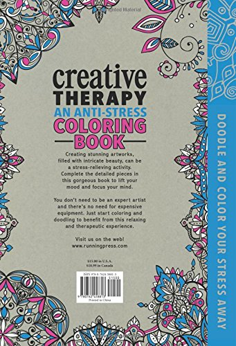 Amazon.com: Creative Therapy: An Anti-Stress Coloring Book ...