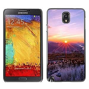 "For Samsung Note 3 N9000 , S-type Naturaleza Hermosa Forrest Verde 83"" - Arte & diseño plástico duro Fundas Cover Cubre Hard Case Cover"