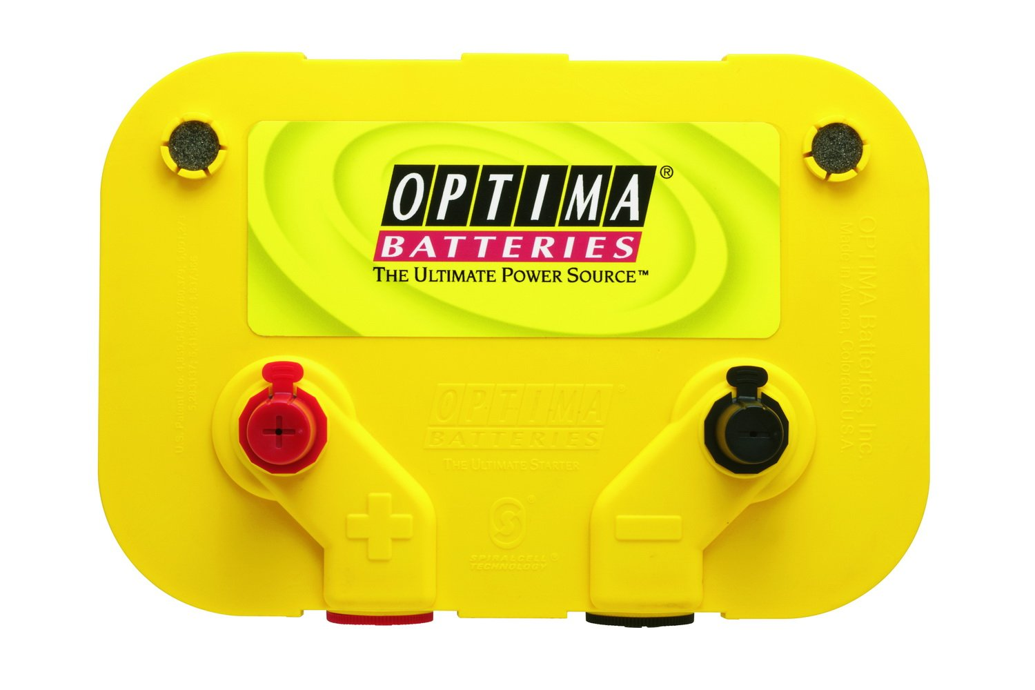 Optima Batteries 8014 045 D34 78 Yellowtop Dual Purpose Back Gt Imgs For Dry Cell Battery Diagram Automotive