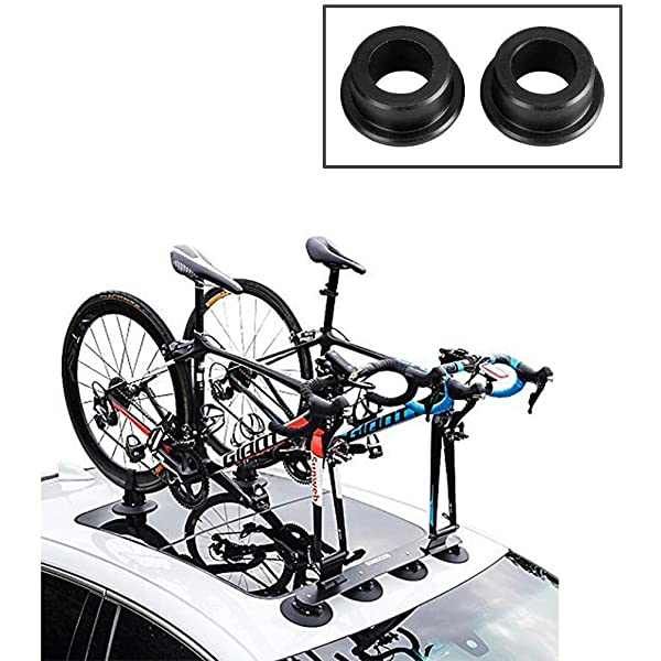 Bike Rack for Car Quick Installation 3 Bike Suction Roof-Top Car Bicycle Racks