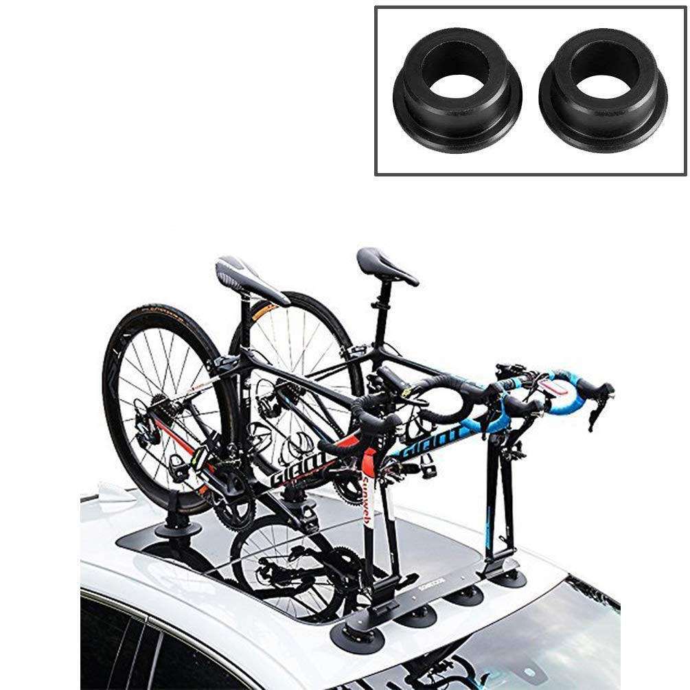 ROCKBROS Roof-top Bike Rack Car Bike Fork with Rear Strap Install Carrier Easy Car Roof Rack Adapter