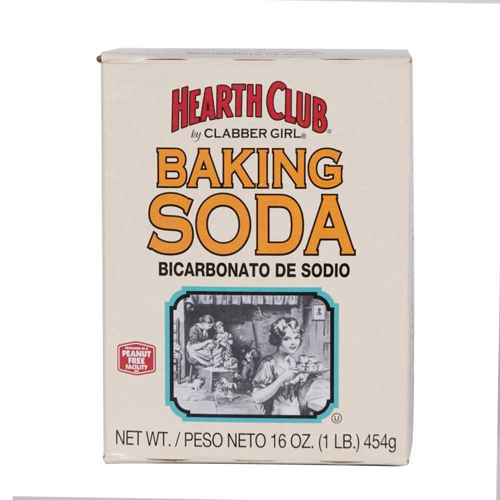 Clabber Girl Hearth Club Baking Soda, 1 Pound - 24 per case.