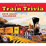 Sellers Publishing 2018 A Year Of Train Trivia: B+O Railroad Museum Boxed/Daily Calendar (CB0272)
