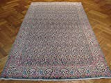 5x8 Antique Persian KERMAN Rug PERFECT PAISELY IRAN