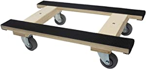 """Forearm Forklift Professional Heavy Duty Moving Dolly with Full Length Rubber Tread 