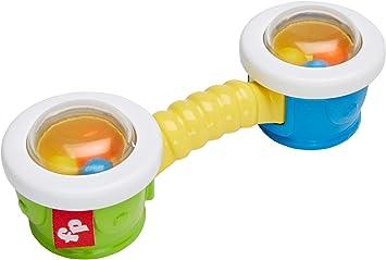 Fisher-Price Sonajero Tambores, juguete bebé +3 meses (Mattel ...