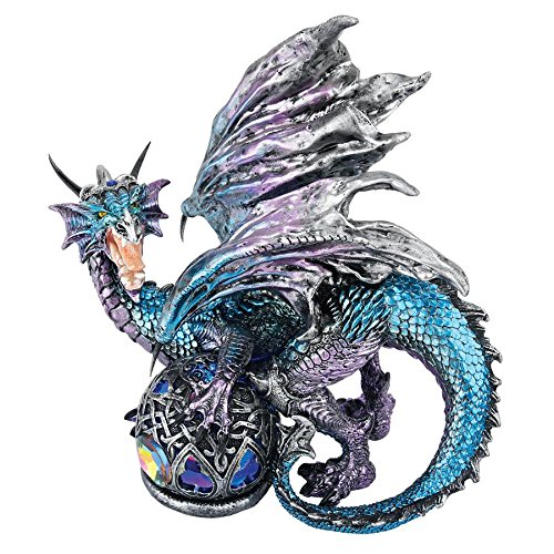 Design Toscano Fanged Shadow Gothic Dragon Statue